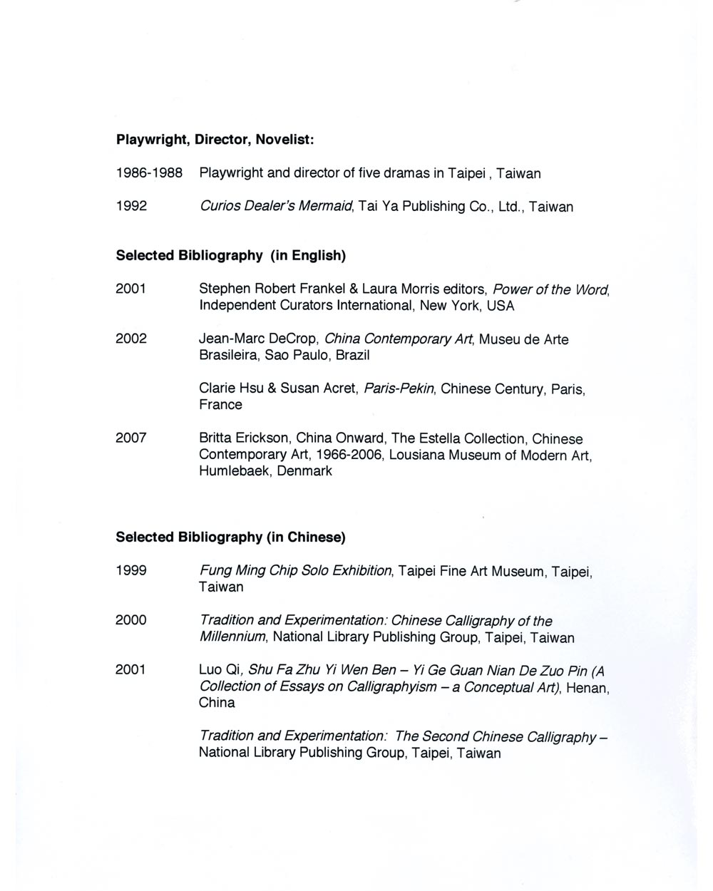 Ming Chip Fung's Resume, pg 5
